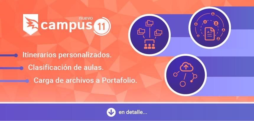 Campus v11 - Novedades